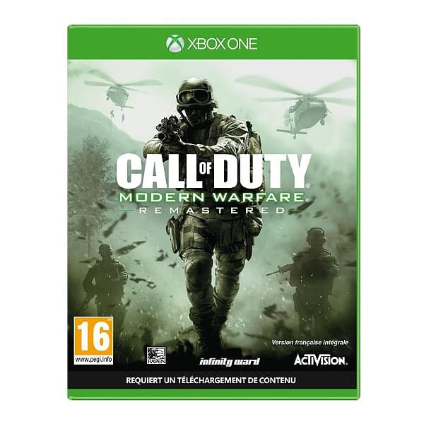 Jaquette Call of Duty : Modern Warfare Remastered