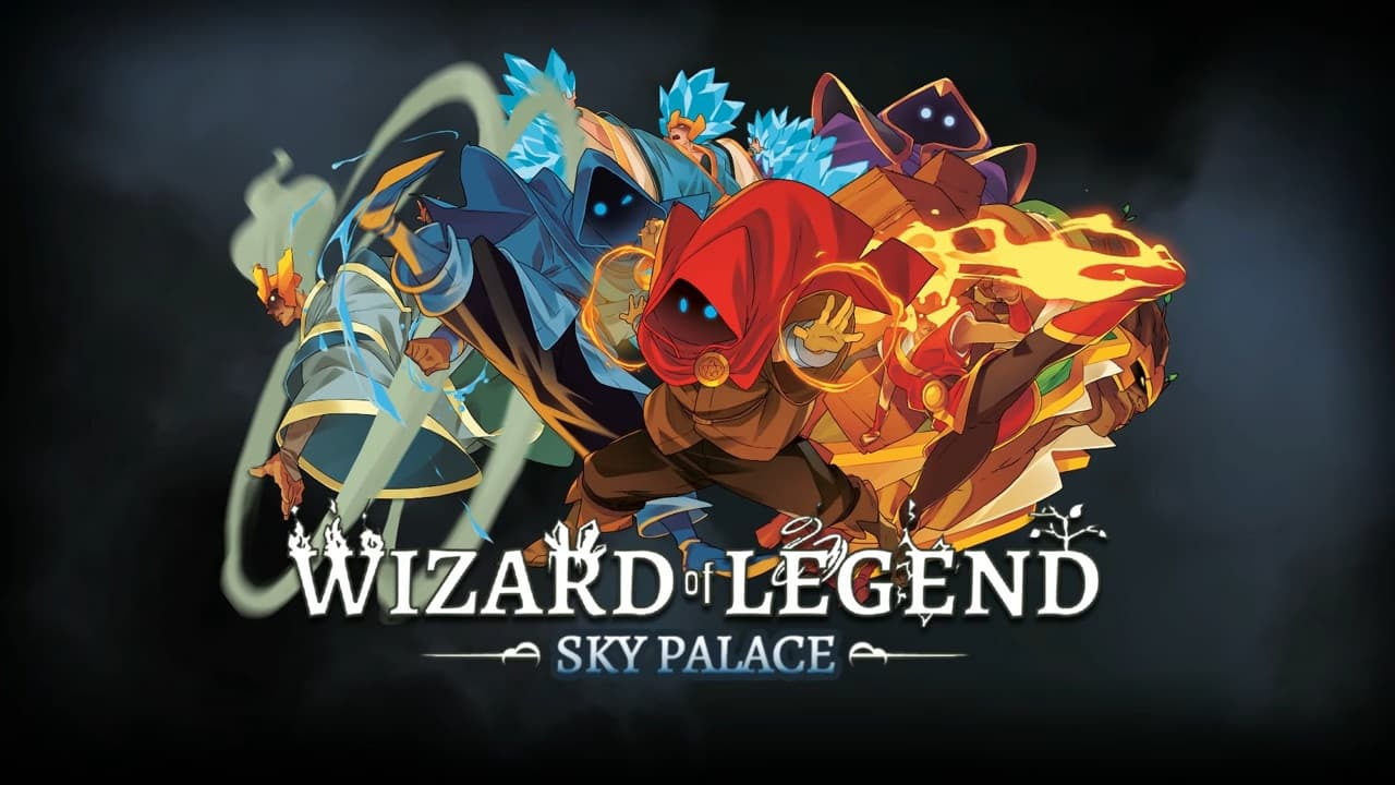 Jaquette Wizard of Legend : Sky Palace
