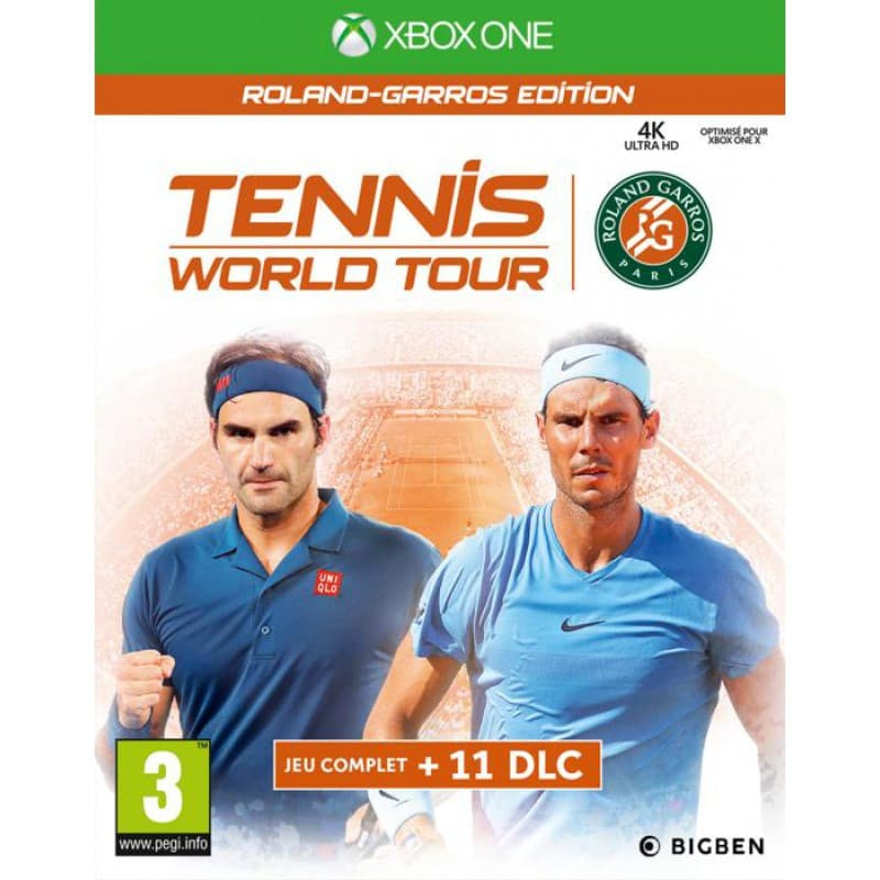 Jaquette Tennis World Tour Roland-Garros Edition