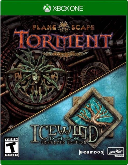 Jaquette Planescape : Torment : Enhanced Edition + Icewind Dale : Enhanced Edition.