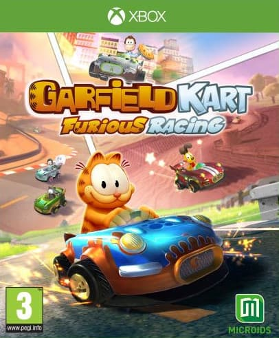 Jaquette Garfield Kart Furious Racing !