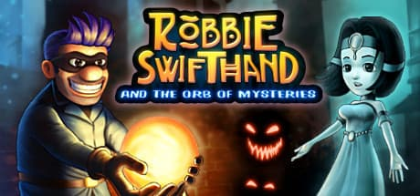 Jaquette Robbie Swifthand and the Orb of Mysteries