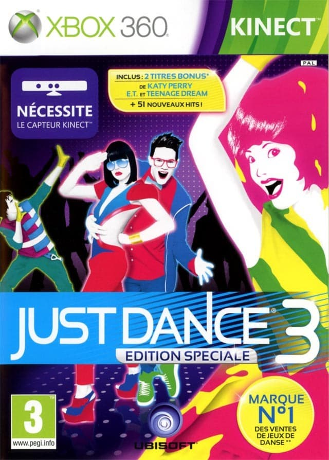 Jaquette Just Dance 3