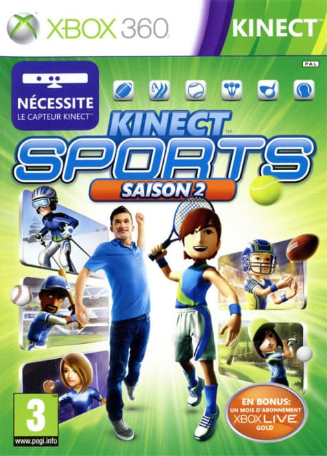 Jaquette Kinect sports 2