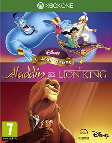 Jaquette Disney Classic Games : Aladdin and The Lion King