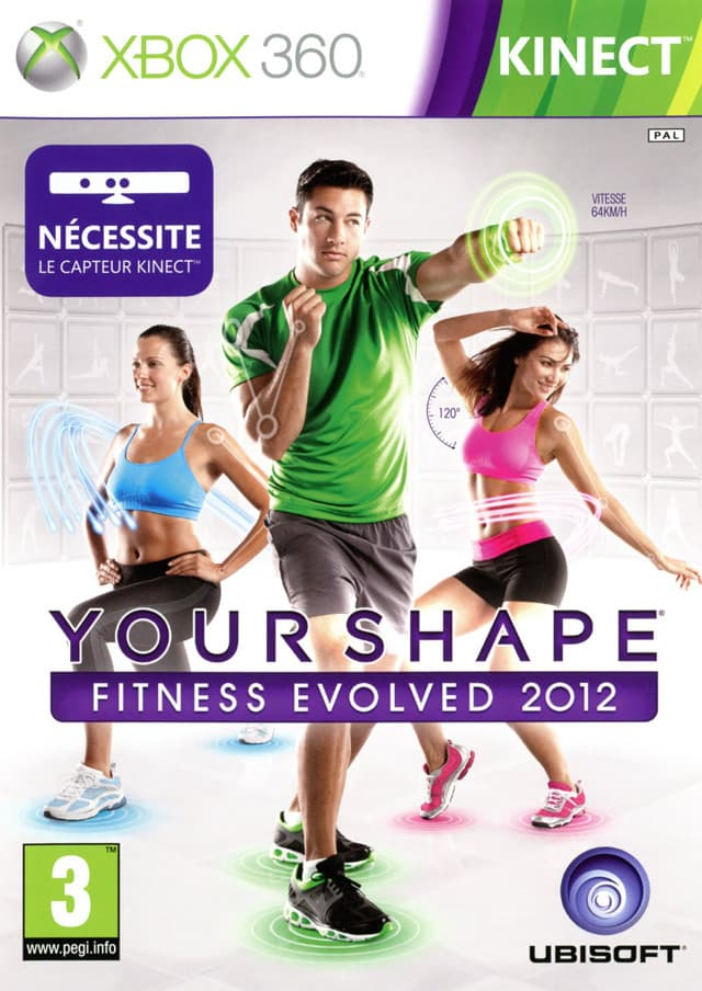 Jaquette Your shape : fitness evolved 2012