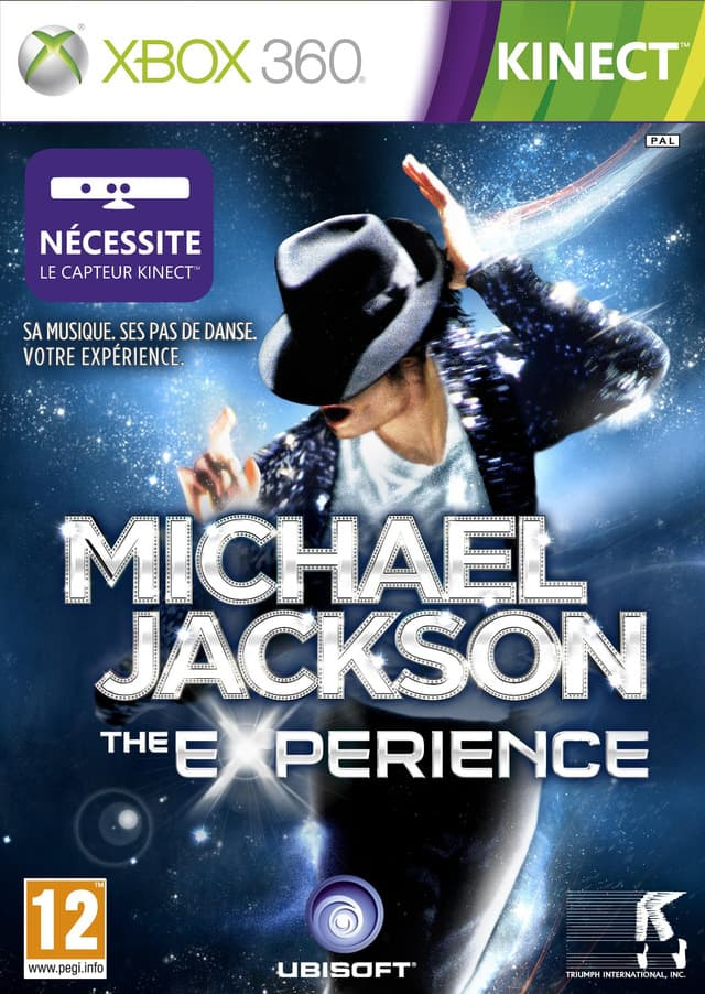Jaquette Michael Jackson : The experience