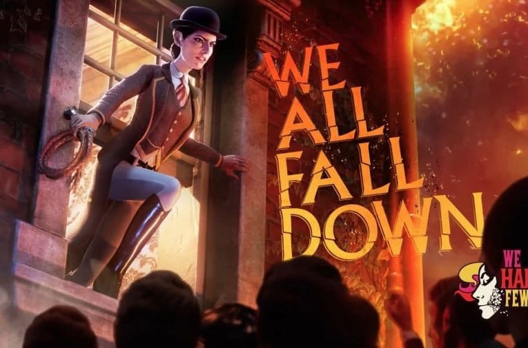 Jaquette We Happy Few : We All Fall Down