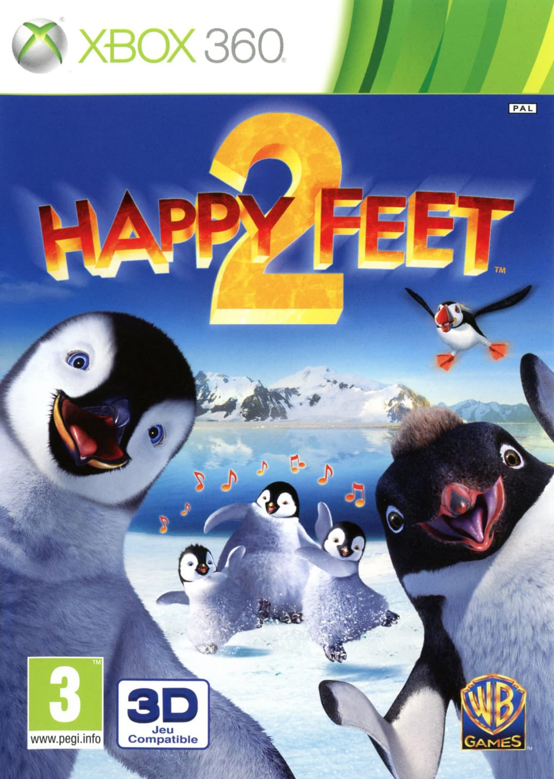 Jaquette Happy Feet 2