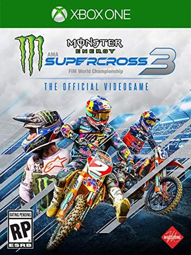 Jaquette Monster Energy Supercross - The Official Videogame 3