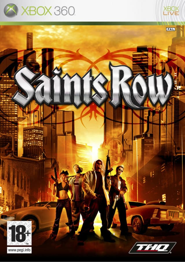 Jaquette Saints Row