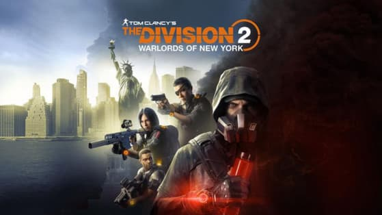 Jaquette Tom Clancy's The Division 2 : Warlords of New York