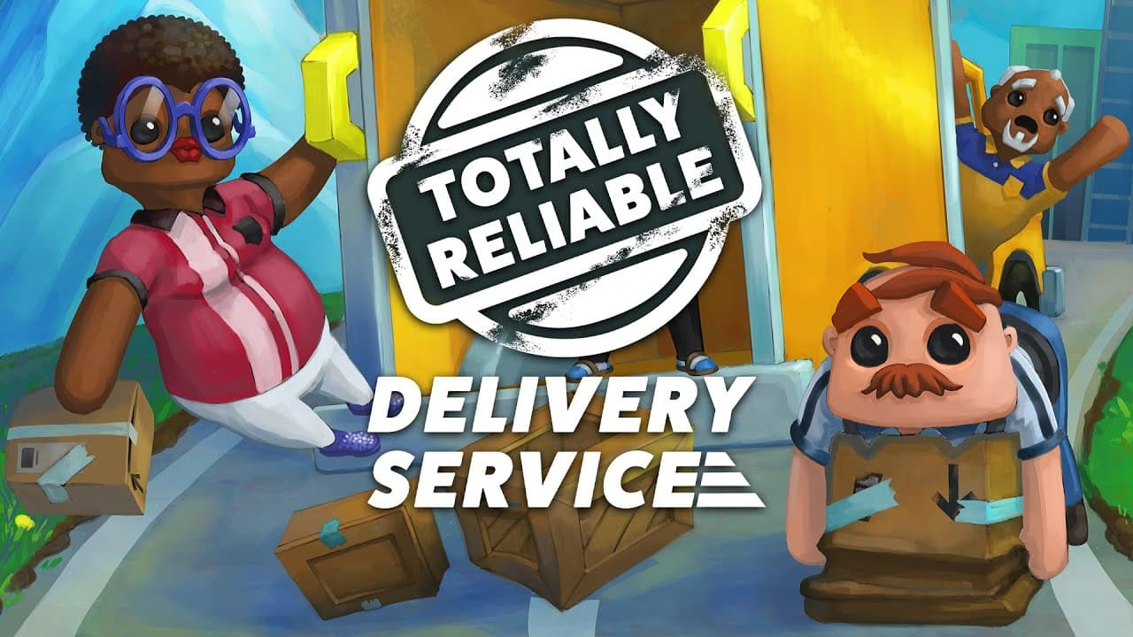 Jaquette Totally Reliable Delivery Service