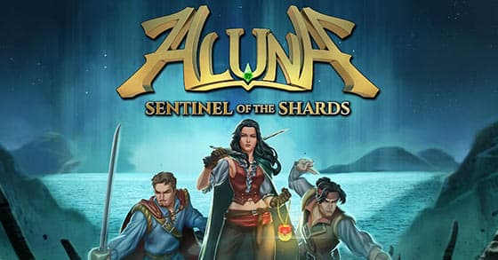 Jaquette Aluna : Sentinel Of The Shards