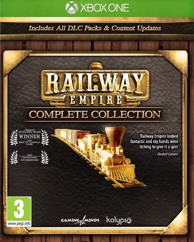 Jaquette Railway Empire - Complete Collection