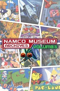 Jaquette Namco Museum Archives Volume 2