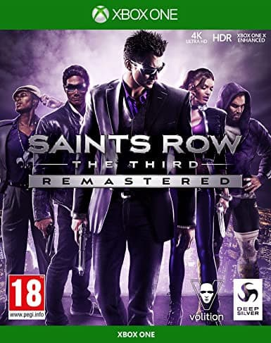 Jaquette Saints Row : The Third Remastered