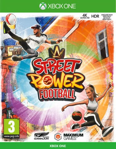 Jaquette Street Power Football