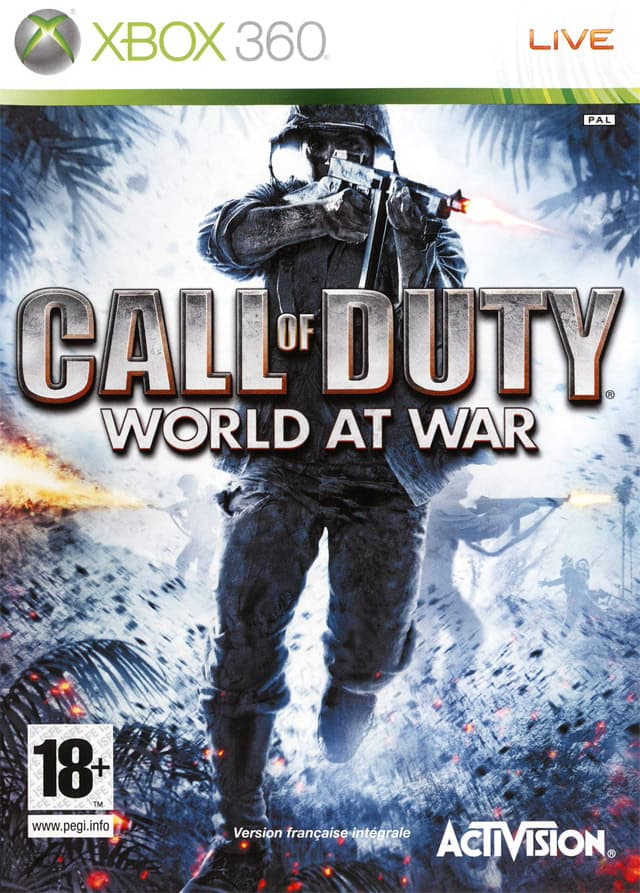 Jaquette Call Of Duty : World At War