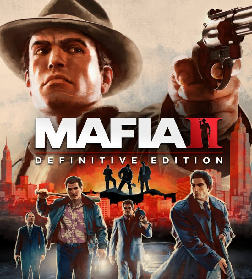 Jaquette Mafia II : Definitive Edition