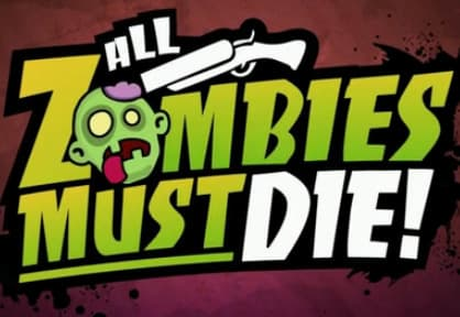 Jaquette All Zombies Must Die!