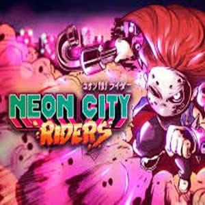 Jaquette Neon City Riders