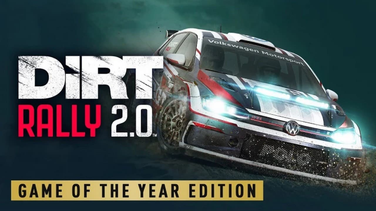 Jaquette Dirt Rally 2.0 Game of the Year Edition