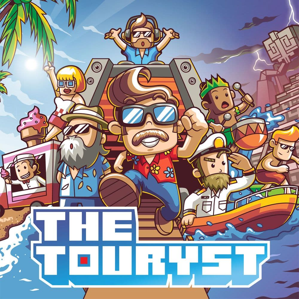 Jaquette The Touryst