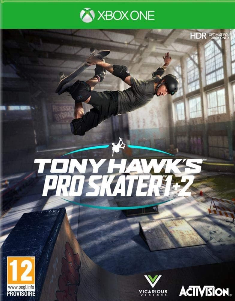Jaquette Tony Hawk's Pro Skater 1+2