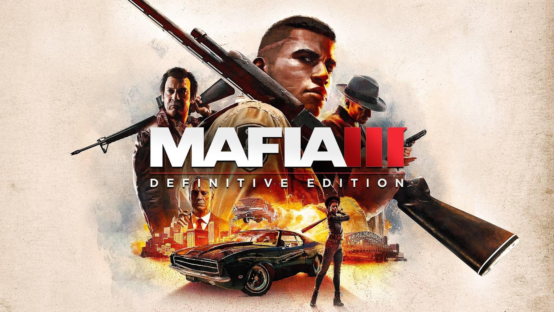 Jaquette Mafia III : Definitive Edition