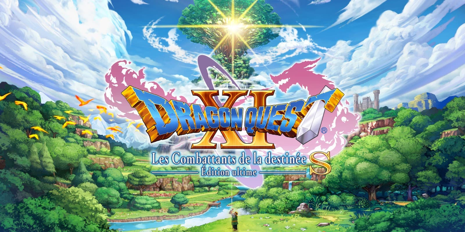 Jaquette Dragon Quest XI S: Les Combattants de la Destinée - Definitive Edition