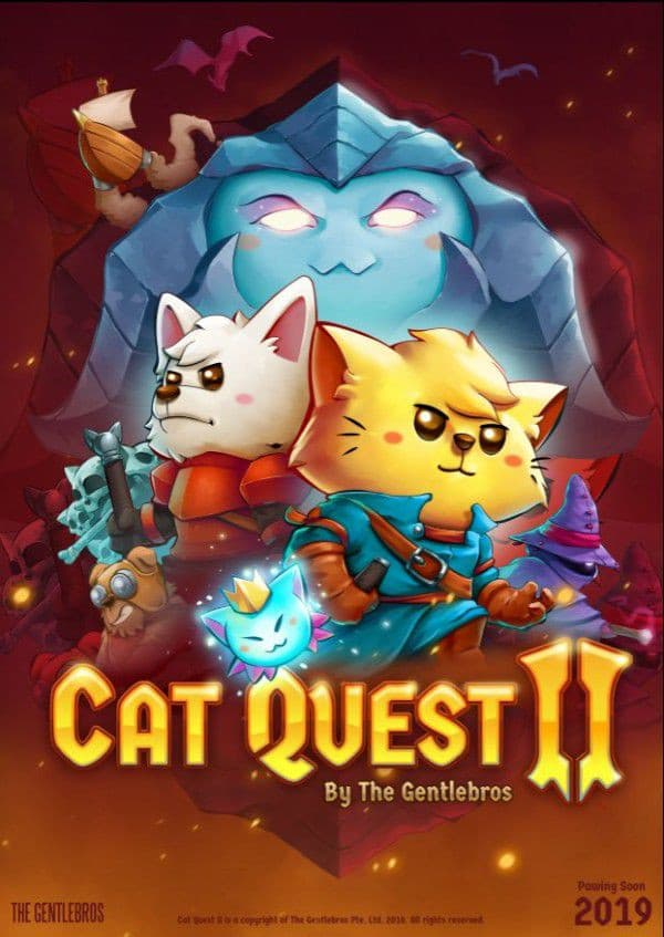 Jaquette Cat Quest II