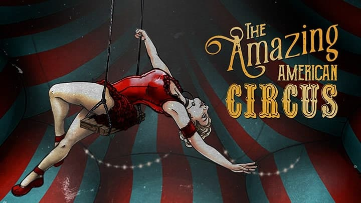 Jaquette The Amazing American Circus