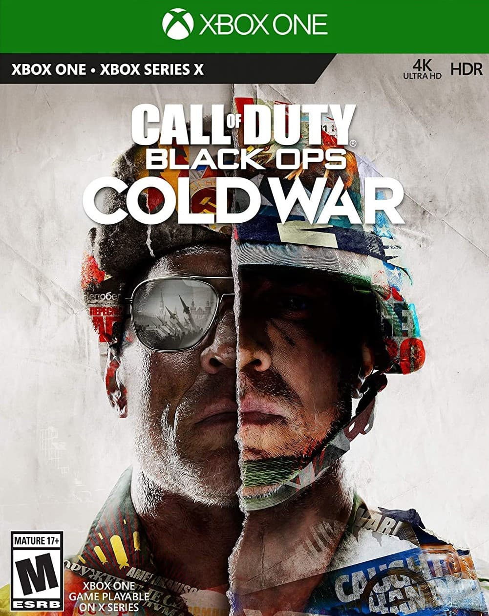 Jaquette Call of Duty : Black Ops Cold War