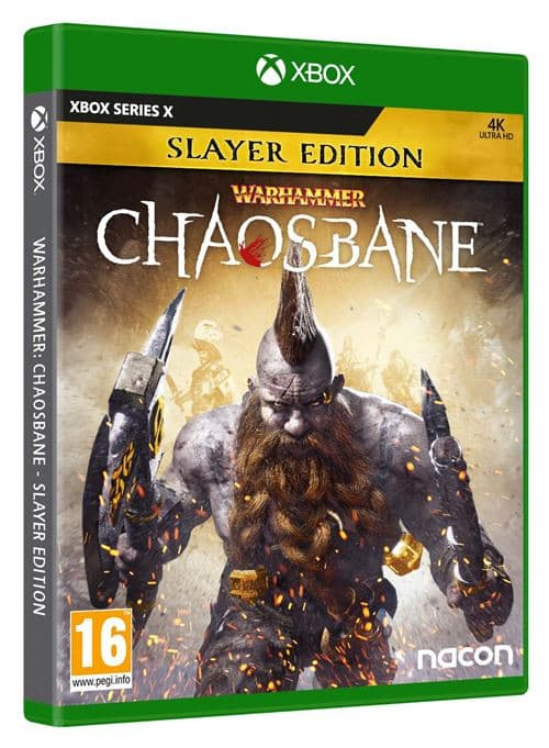 Jaquette Warhammer : Chaosbane Slayer Edition