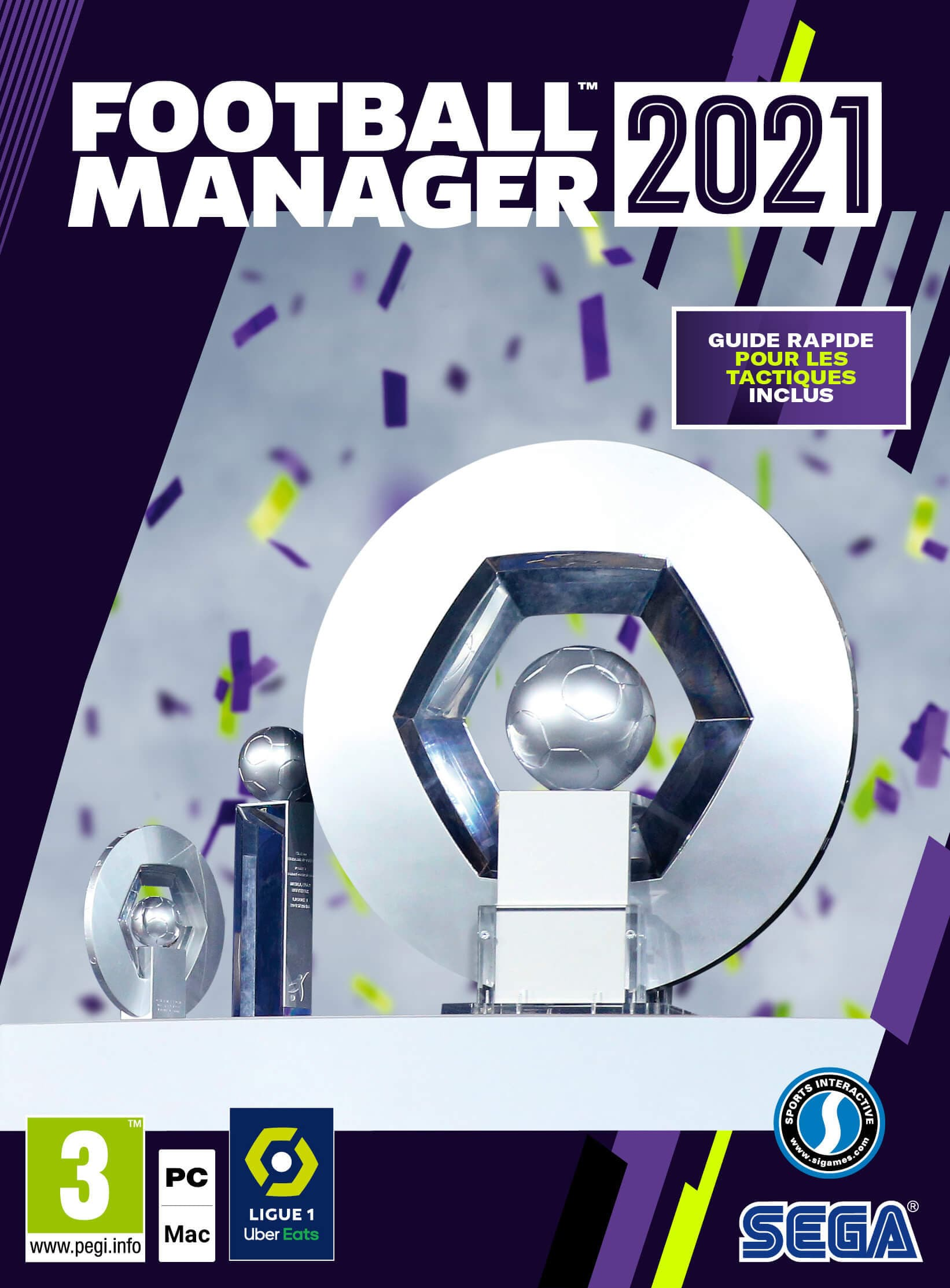 Jaquette Football Manager 2021 Xbox Edition