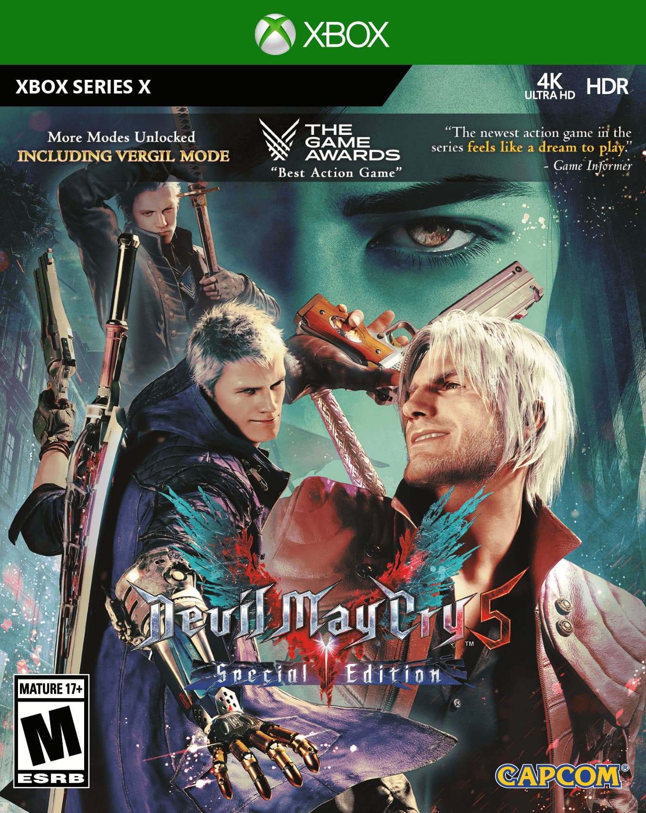 Jaquette Devil May Cry 5 : Special Edition