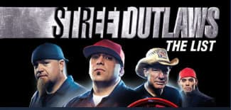 Jaquette Street Outlaws : The List