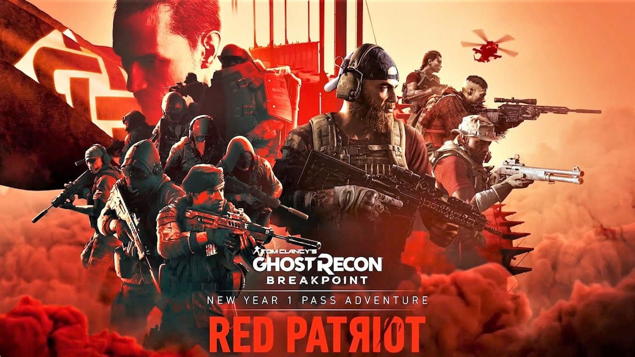 Jaquette Ghost Recon Breakpoint Episode 3: Red Patriot
