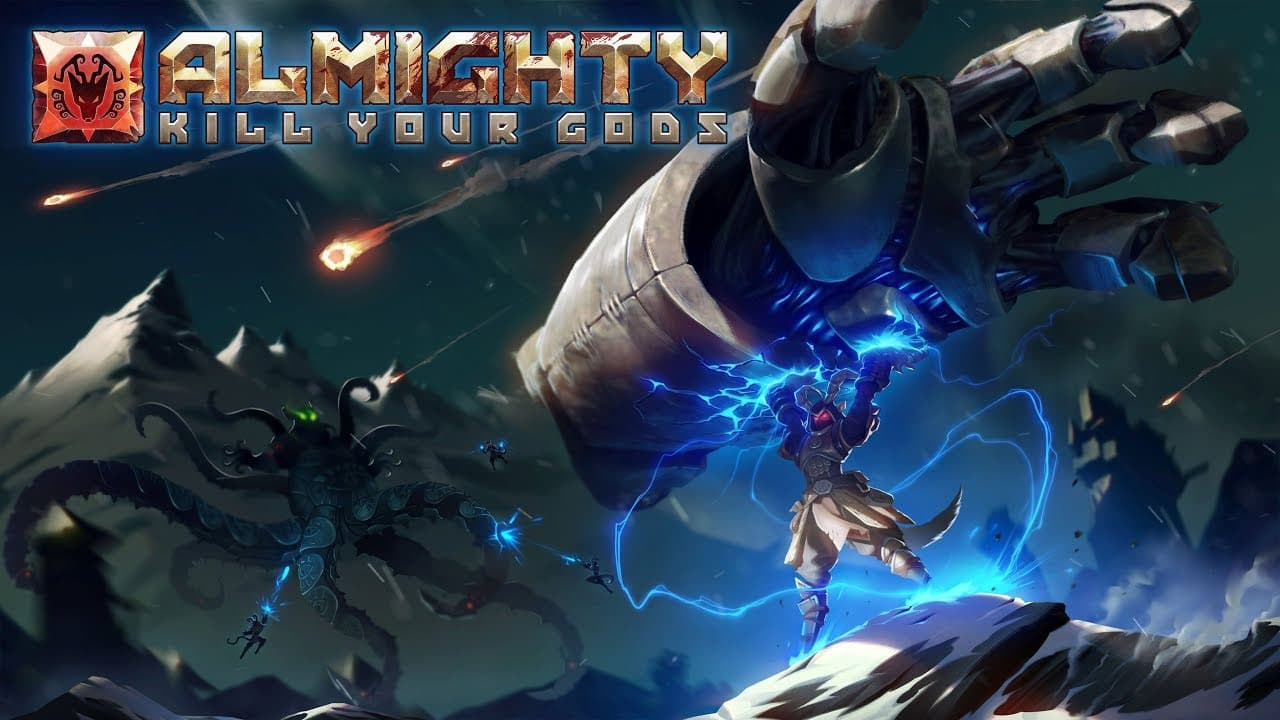 Jaquette Almighty : Kill Your Gods