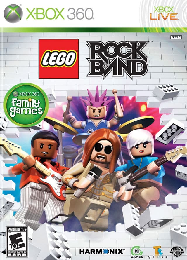 Jaquette Lego Rock Band