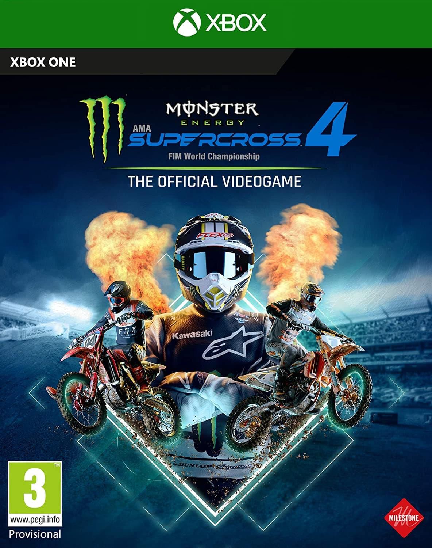 Jaquette Monster Energy Supercross 4