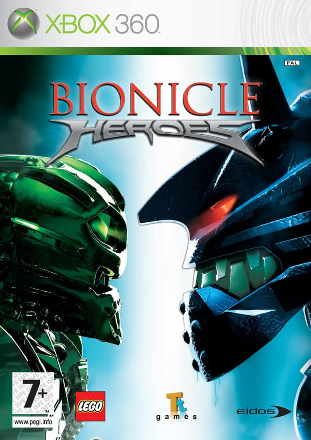 Jaquette Bionicle Heroes