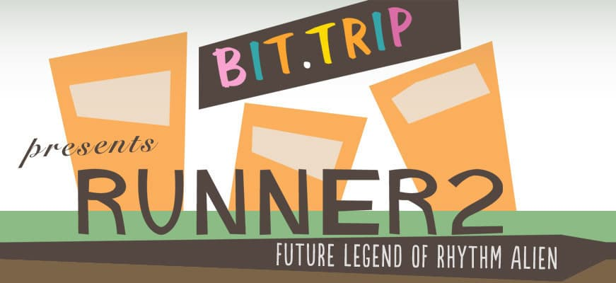 Jaquette Bit.Trip Presents : Runner 2