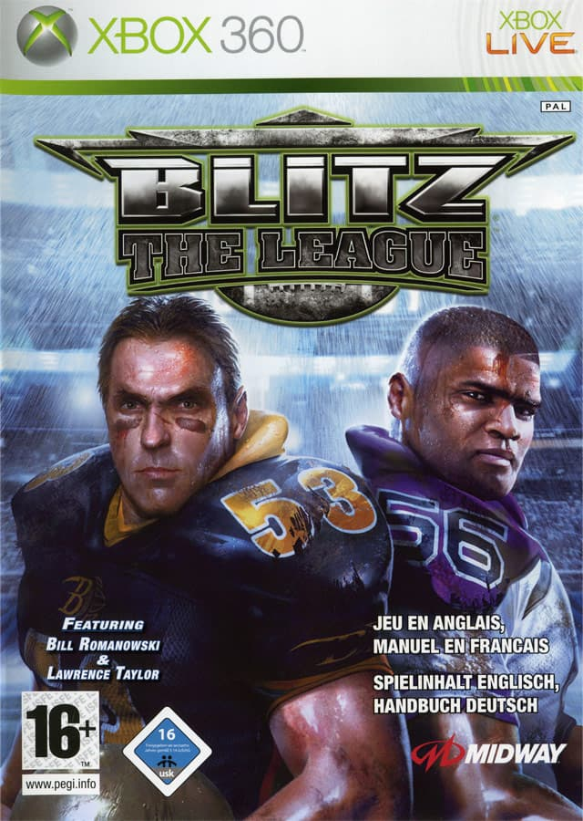 Jaquette Blitz : The League