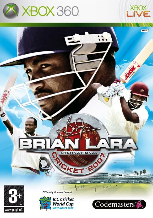 Jaquette Brian Lara International Cricket 2007