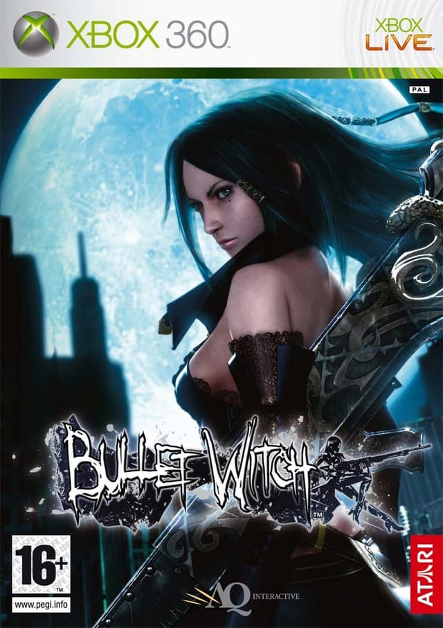 Jaquette Bullet Witch
