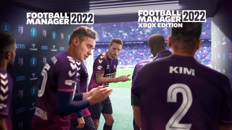 Jaquette Football Manager 2022 Xbox Edition