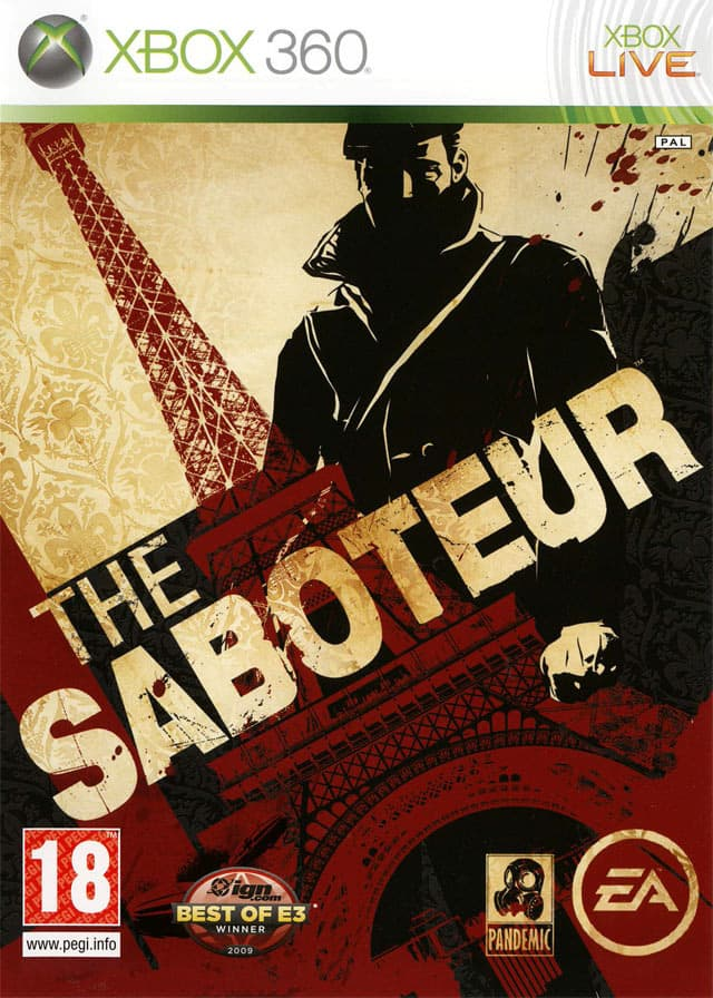 Jaquette The Saboteur