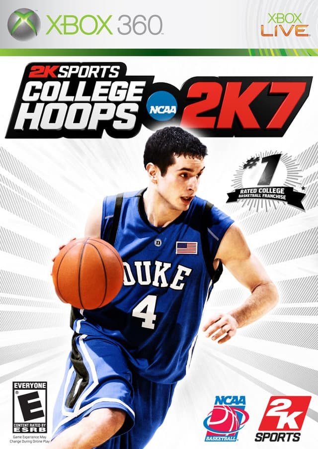 Jaquette College Hoops 2K7
